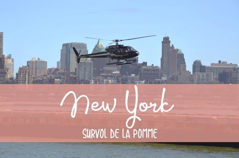 Survol hélico New York