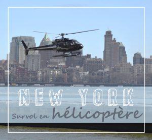 Survol de New York en hélico