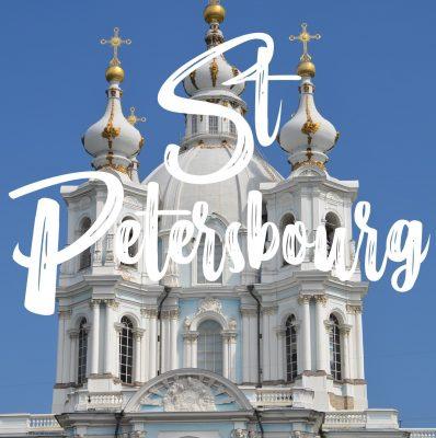 Dépenses pour 3 jours à Saint Petersbourg