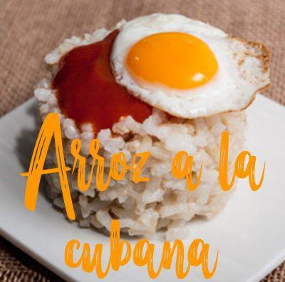 Recette espagnole Arroz a la cubana