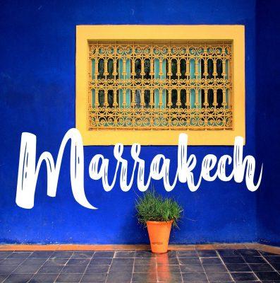 Carnet de voyage à Marrakech
