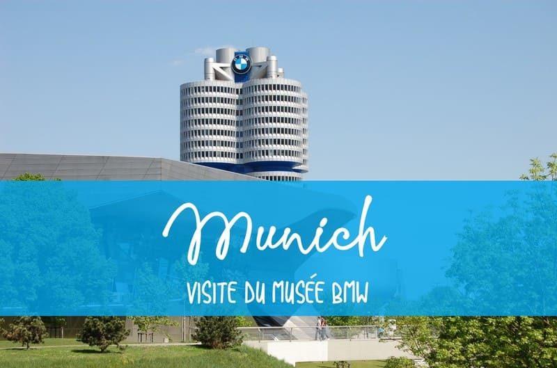 Visite musée BMW Munich